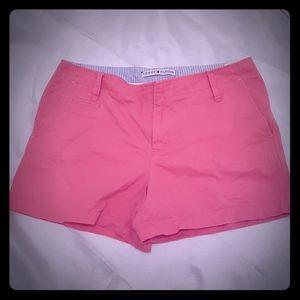 Tommy Hilfiger pink shorts woman size 10 cotton